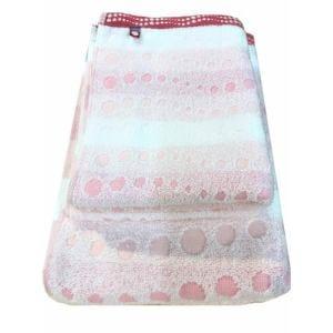 フェイスタオル 今治タオル クレール ピンク (1枚) 綿100% 柔らかな肌触りと優れた吸水性 約34×80cm 野村タオル(株)