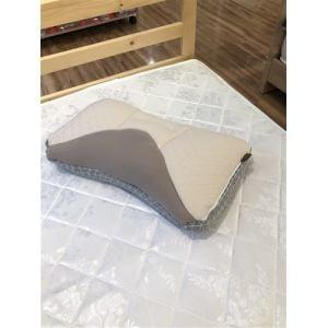 西川株式会社 2433-10331BR ウエ楽/PREMIUM 健康枕 PILLOW GALLERY 38×60cm ブラウン
