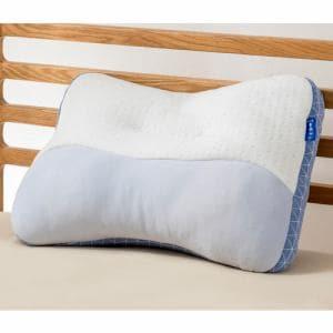 西川株式会社 2433-10307BU ウエ楽/かため 健康枕 PILLOW GALLERY 36×55cm ブルー
