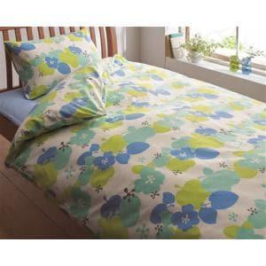 西川株式会社 2138-30136 BL 掛カバー フルーツSL(シングルロング)  ORNE 150×210cm ブルー