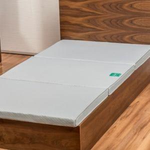 西川株式会社 4E5410 BA-4 西川ブレスアクション S(シングル) BREATH ACTION 4×99×200cm グレー