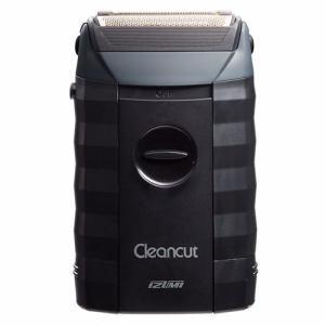 イズミ IZF-303-K 往復式 メンズシェーバー Cleancutシリーズ 3枚刃(乾電池式)