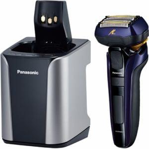 パナソニック ES-CLV7C-A メンズシェーバー 「ラムダッシュ」(5枚刃) 全自動洗浄充電器付 青