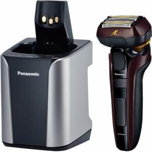 パナソニック ES-CLV7C-T メンズシェーバー 「ラムダッシュ」(5枚刃) 全自動洗浄充電器付 茶