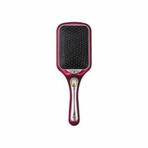 ブラシ コイズミ マイナスイオン 振動 音波 KBE-2400/P マイナスイオンリセットブラシ ピンク
