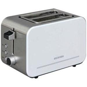 アイリスオーヤマ IPT-850-W ポップアップトースター (4~8枚切・2枚)