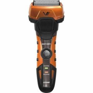 イズミ IZF-V758D メンズシェーバー グルーミングシリーズ 4枚刃 オレンジ