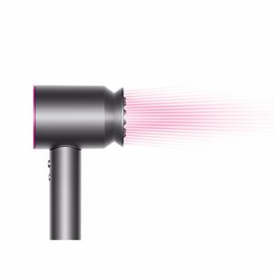 ダイソン HD03ULFFFNBR Dyson Supersonic ionic ヘアードライヤー スタイリングセット付   フューシャ×ニッケル