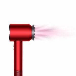 ダイソン HD03ULFRRN Dyson Supersonic Ionic(TM) ヘアドライヤー レッド/ニッケル