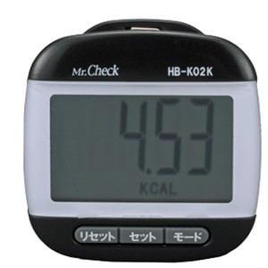 オーム電機 でか表示歩数計 HB-K02K