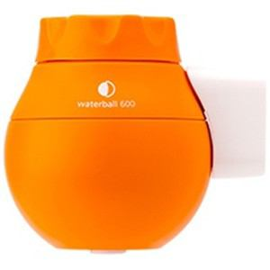 東レ 蛇口直結型浄水器 「ウォーターボール waterball」マンダリンオレンジ WB600C-MO