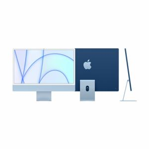 アップル(Apple) MGPL3J/A 24インチiMac Retina 4.5Kディスプレイモデル 8コアCPU8コアGPU搭載Apple M1チップ 512GB ブルー