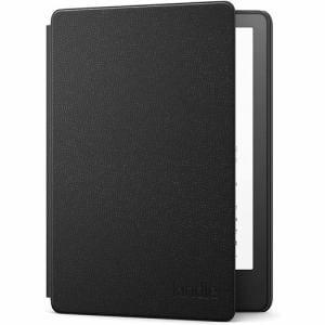 アマゾン B08VZ6YMVV Kindle Paperwhite、 Kindle Paperwhiteシグニチャーエディション用  Amazon純正レザーカバー、 ブラック (2021年発売 第11世代)   ブラック