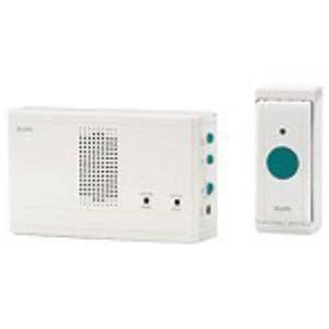 ELPA EWS-1001 ワイヤレスチャイム 押ボタン送信器セット