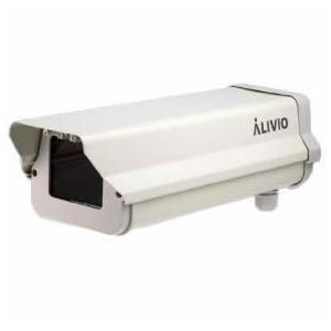 コロナ電業 VK-HT005 屋外カメラハウジング(バックオープンタイプ) アイボリー
