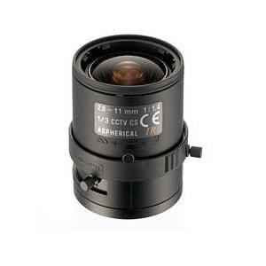 コロナ電業 13VM2811ASIR マニュアルアイリスバリフォーカルレンズ f=2.8~11mm/F1.4