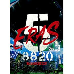 【DVD】B'z SHOWCASE2020-5 eras 8820-Day3