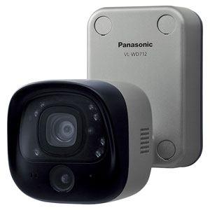 パナソニック センサー付屋外ワイヤレスカメラ VL-WD712K