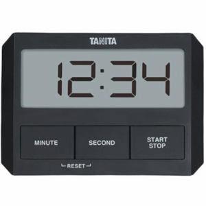 タニタ デジタルタイマー ブラック TD-409-BK
