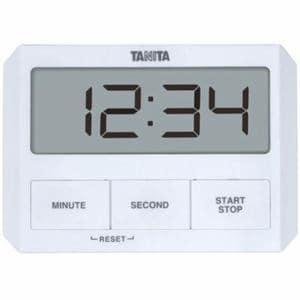 タニタ デジタルタイマー ホワイト TD-409-WH