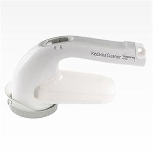 テスコム KD900-W 毛玉クリーナー 充電交流式(コードレス & AC電源) ホワイト