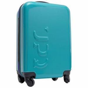 UPQ(アップ・キュー) UPQ Bag TR01/BB 12,000mAhモバイルバッテリー搭載機内持込対応スーツケース ブルージッパー QBAG001BB