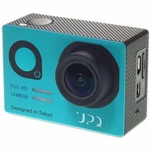 UPQ(アップ・キュー) Q-camera ACX1 マイクロSD対応フルハイビジョンアクションカメラ QCAM001BG