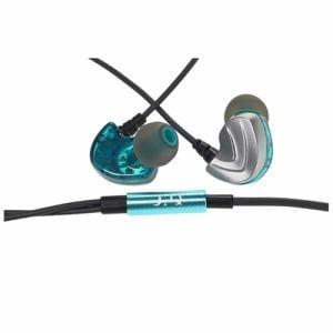 UPQ(アップ・キュー) Q-music QE50 ハイブリッドドライバー2基搭載、耳掛け式カナル型イヤホン QERP002BG