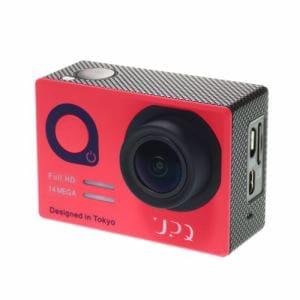 UPQ(アップ・キュー) QCAM001NR Q-camera ACX1 マイクロSD対応フルハイビジョンアクションカメラ ネイビー・アンド・レッド