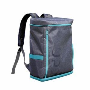UPQ(アップ・キュー) BP01-BG 「USBバックル」付き&ポケット充実バックパック UPQ Bag BP01 BG ブルー・バイ・グリーン