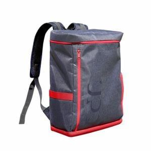 UPQ(アップ・キュー) BP01-NR 「USBバックル」付き&ポケット充実バックパック UPQ Bag BP01 NR ネイビー・アンド・レッド