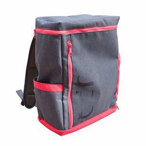 UPQ(アップ・キュー) BP-02-BG 「USBバックル」付き&ポケット充実バックパック UPQ Bag BP02 mini NR ネイビー・アンド・レッド