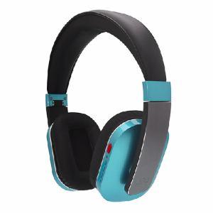 UPQ(アップ・キュー) QMUSICHDP5BG 折りたたみ式密閉型Bluetooth4.0対応ワイヤレス・ヘッドフォン Q-music HDP5 BG ブルー・バイ・グリーン