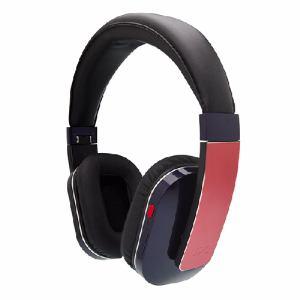 UPQ(アップ・キュー) QMUSICHDP5NR 折りたたみ式密閉型Bluetooth4.0対応ワイヤレス・ヘッドフォン Q-music HDP5 NR ネイビー・アンド・レッド