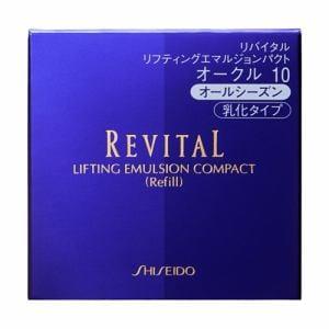 資生堂(SHISEIDO) リバイタル リフティングエマルジョンパクト オークル10 (レフィル) (13g)