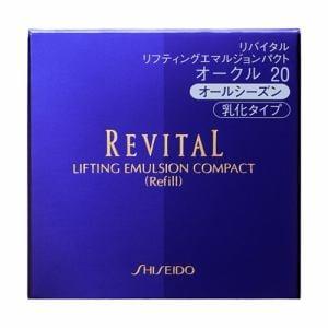 資生堂(SHISEIDO) リバイタル リフティングエマルジョンパクト オークル20 (レフィル) (13g)