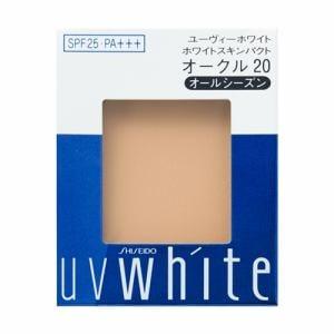 資生堂(SHISEIDO) UVホワイト ホワイトスキンパクト オークル20 (レフィル) (12g)