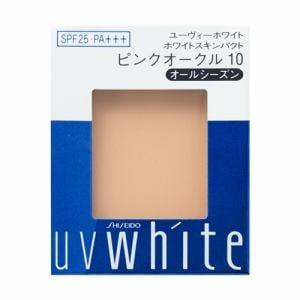資生堂(SHISEIDO) UVホワイト ホワイトスキンパクト ピンクオークル10 (レフィル) (12g)
