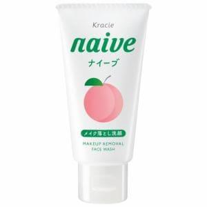 クラシエ(Kracie) ナイーブ メイクも落とせる洗顔フォーム桃ミニ