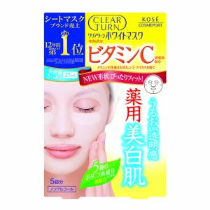 コーセーコスメポート クリアターン ホワイトマスク ビタミンC 5回分 (22mL×5)