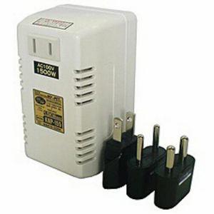 ヤザワ 日章変圧器 (ダウントランス・熱器具専用)(1500W) KNP -155 KNP155