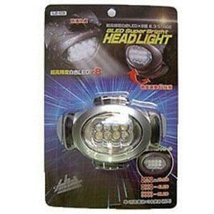 ヤザワ 8LED SUPER BRIGHT ヘッドライト LZ03