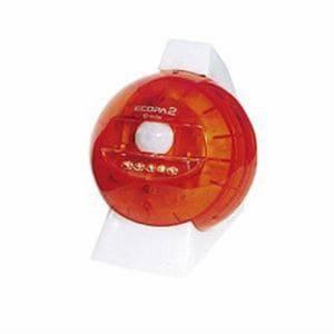 日本セラミック SL-613 電池式LEDセンサーライト エコパ2 (クリアオレンジ)