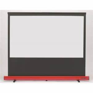 キクチ科学研究所 SD-80HDWAR 床置きスクリーン Stylist Limited  赤