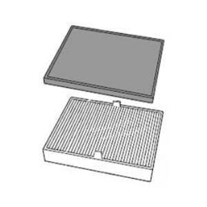 シャープ 空気清浄機 集じんフィルター(制菌タイプ)と脱臭フィルターのセット FZ-R25SF