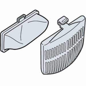 日立 NETKD8BX 日立NET-KD8BX糸くずフィルター洗濯乾燥機・全自動洗濯機用下部糸くずフィルター・カバー(各2個入)
