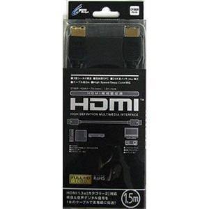 サイバーガジェット CY-HMC1.5R-BK 1.5m PS4 PS3 NintendoSwitch用
