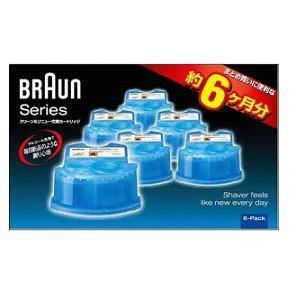 ブラウン アルコール洗浄システム専用洗浄液カートリッジ 6個入り CCR6