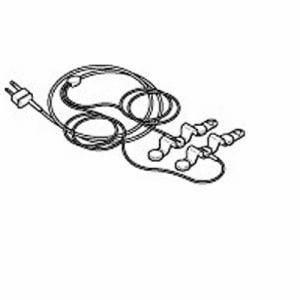 オムロン HV CODE 3D 導子コード 電気治療器 低周波治療器用導子コード