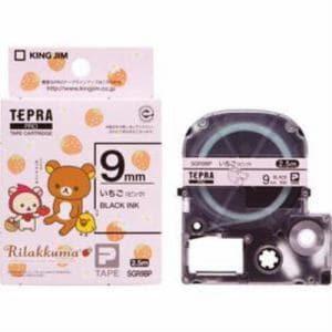 キングジム SGR9BP テプラPROテープ いちご(ピンク) 9mm幅 2.5m
